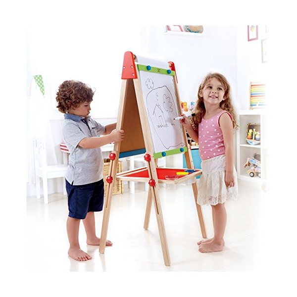 Hape - Early Explorer - All-In-One Easel with Paper Roll