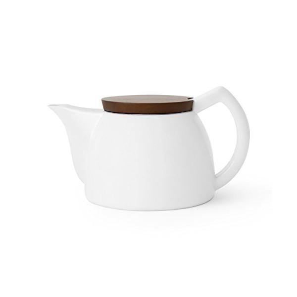 Sowden Jakob Porcelain 1,000ml Teapot White