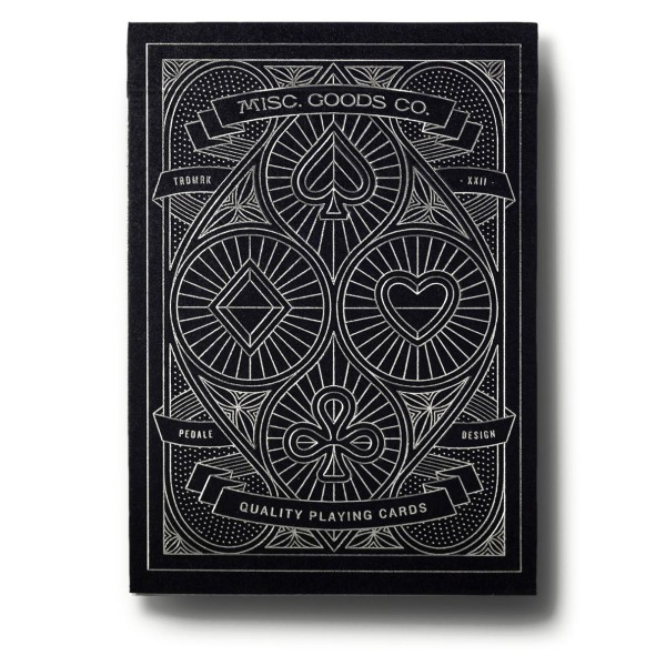 Black Misc. Goods Co. Playing Cards Deck Printed By Uspcc