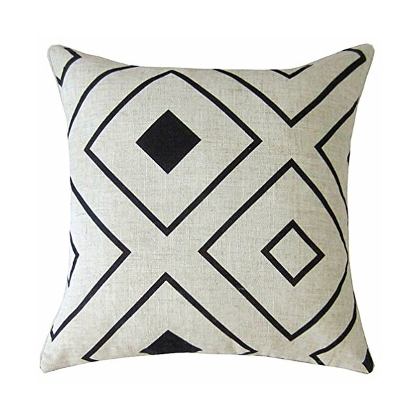 Wendana Linen Geometry Decorative Throw Pillow Covers Cushion Covers