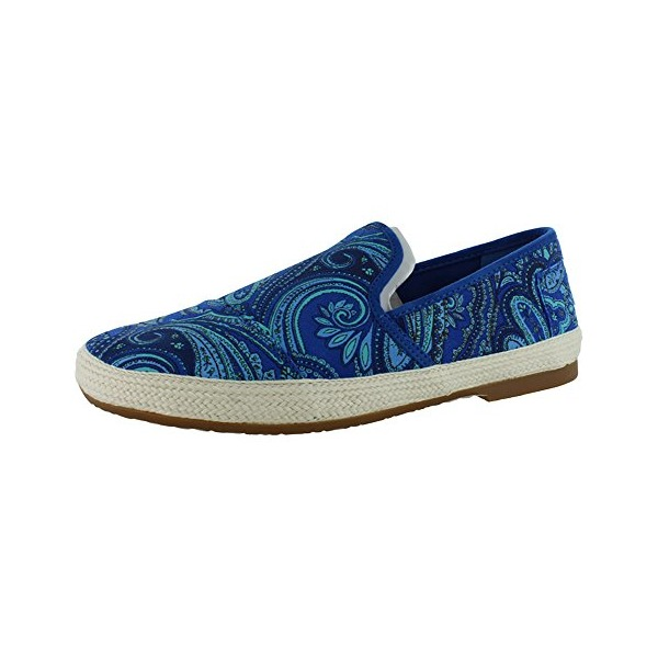 Toms Mens Freetown Sabados Blue Paisley 10001209 12