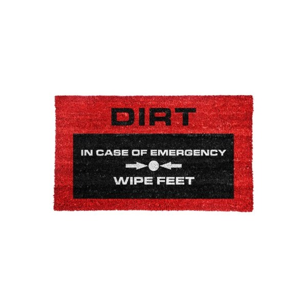 Mustard NG5051 Door Mat, Emergency