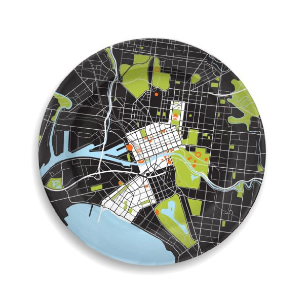 Melbourne City Plate