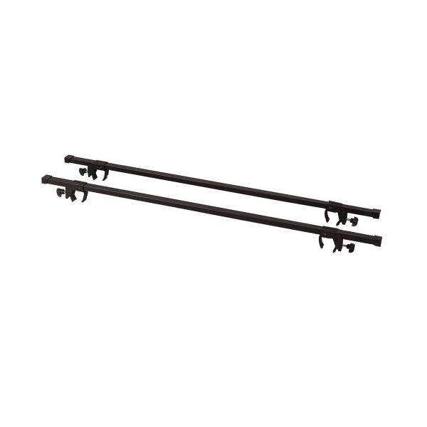 "49.75"" Roof Rack Cross Bar Pair Fits Side Rails up to 46.5"" Apart"