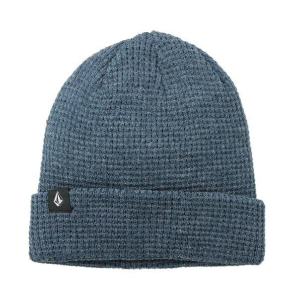 Volcom Men's Roscoe's Beanie, Estate Blue, One Size