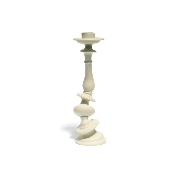 Areaware Distortion Candlestick, White