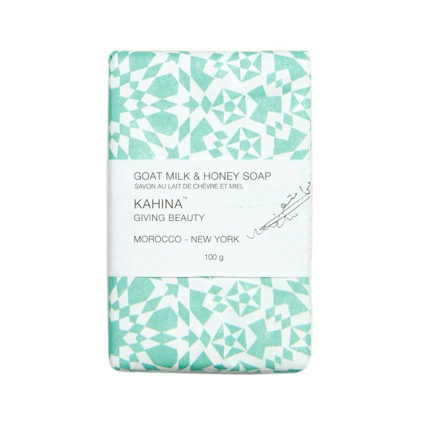 Kahina Goat Milk & Honey Argan Soap