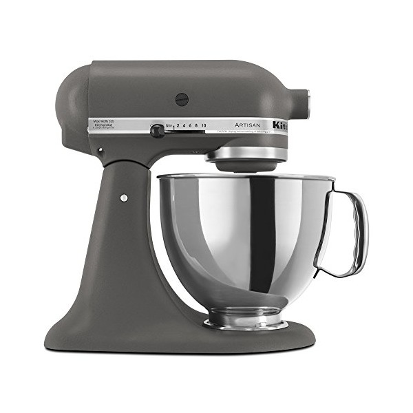 KitchenAid KSM150PSGR 5-Qt. Artisan Series with Pouring Shield - Imperial Grey