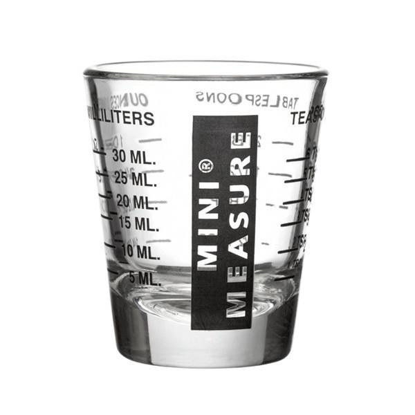 Kolder Original Mini Measure, Multi-Purpose Measuring Glass