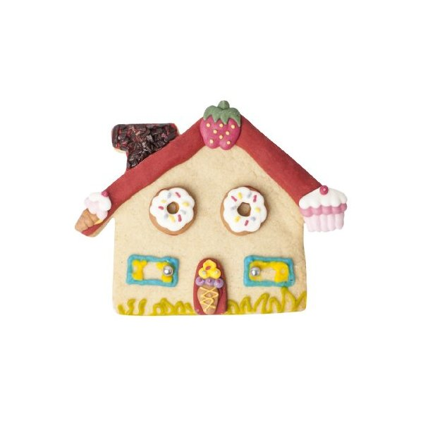 Hilly's Kitchen Bake Your Own Gingerbread House Cookie Biscuit Cutters