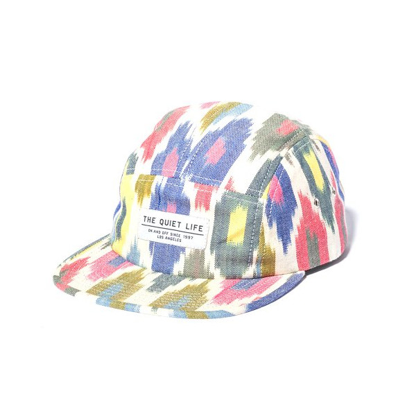 Quiet Life: Ikat Linear 5 Panel Hat