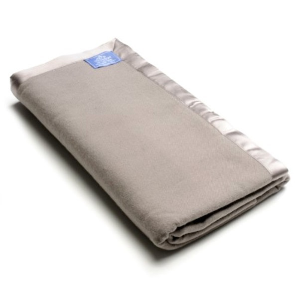 Himalaya Luxury 100% Cashmere King Size Blanket in Stone