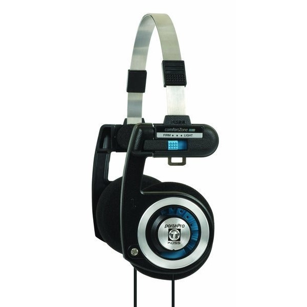 Koss Porta Pro Stereo Over-Ear Headphones for iPod, iPhone, MP3 and Smartphone - Black/Silver