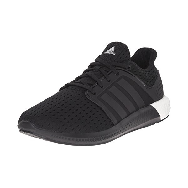 adidas Performance Men's Solar Boost M Running Shoe,Black/Black/Silver,12.5 M US