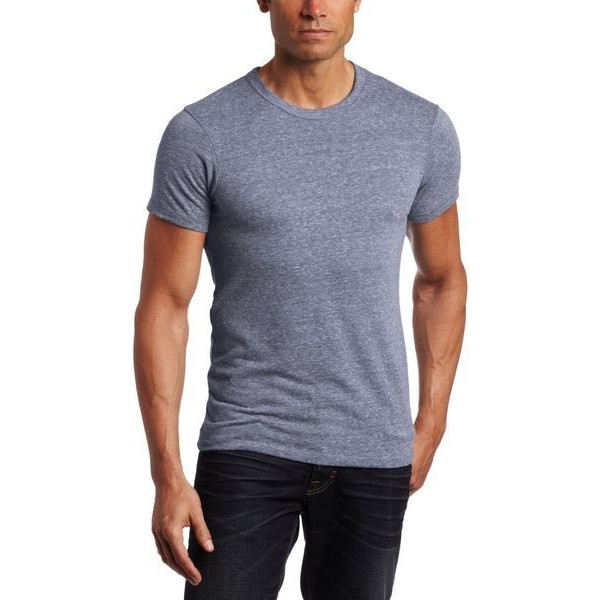Alternative Apparel Men's Heather Crew Neck Tee