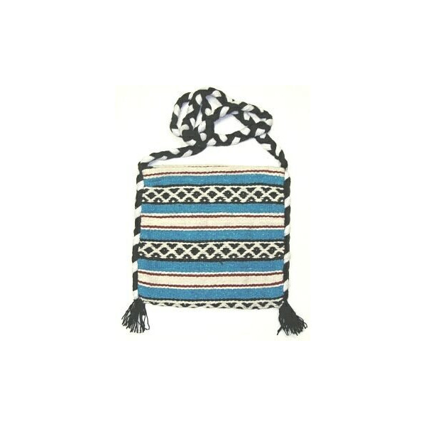 Lt Blue Falsa Blanket Tote Bag
