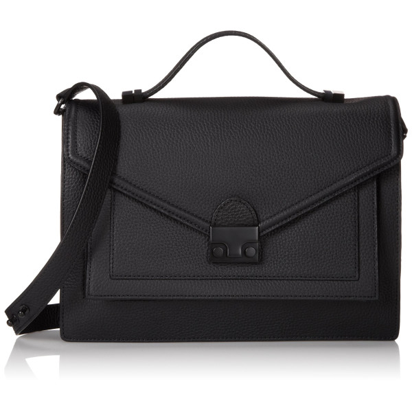 LOEFFLER RANDALL Rider-TL2 Top Handle Bag, Black