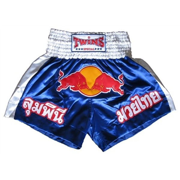 Twins Special Muay Thai Shorts Red Bull (Tbs-05-blue)