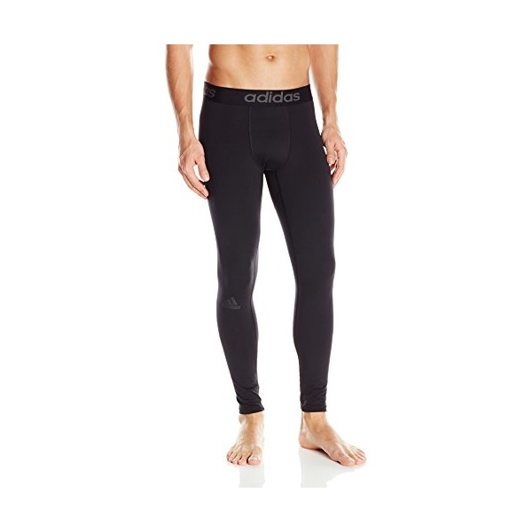 adidas Performance Men's Team Issue Base Cold Weather Compression Long Tight Bottom, Black, Small
