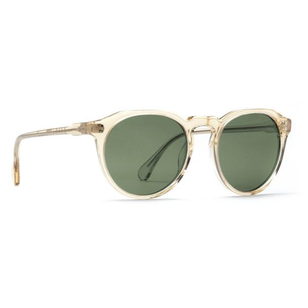 Raen Remmy Polarized Round Sunglasses,Champagne Crystal