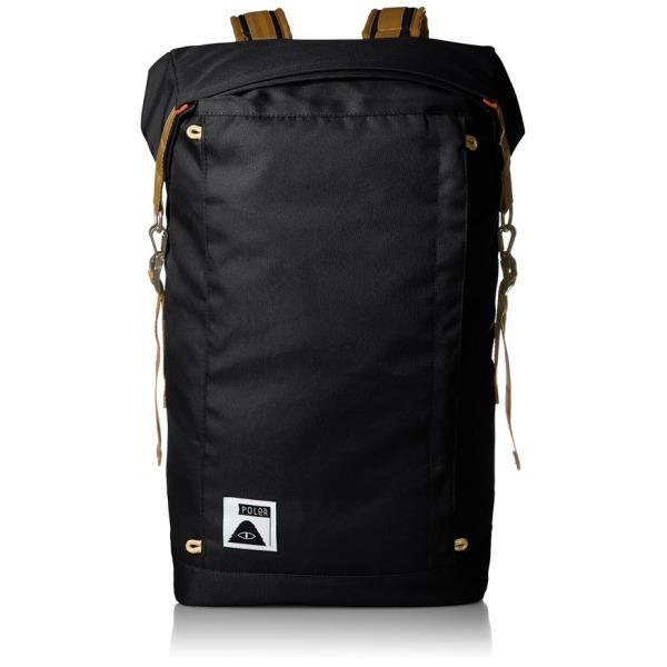 Poler Rolltop Backpack, Black