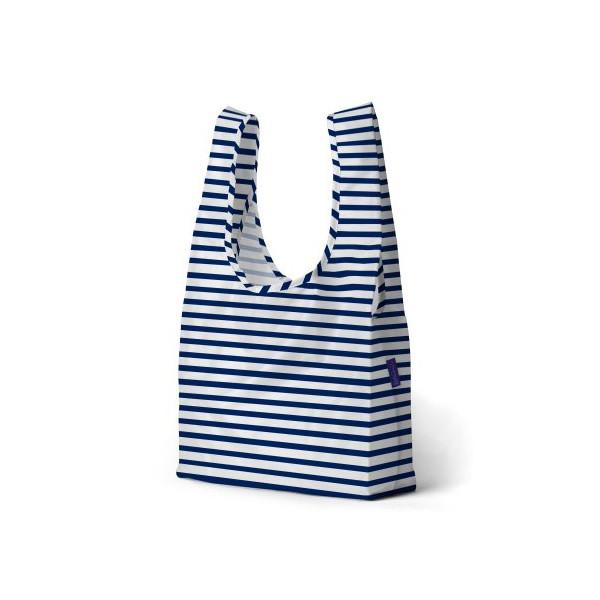 BAGGU Standard Reusable Shopping Bag Sailor Stripe