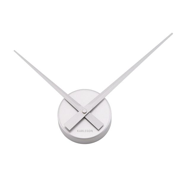 Karlsson Mini Wall Clock, Silver