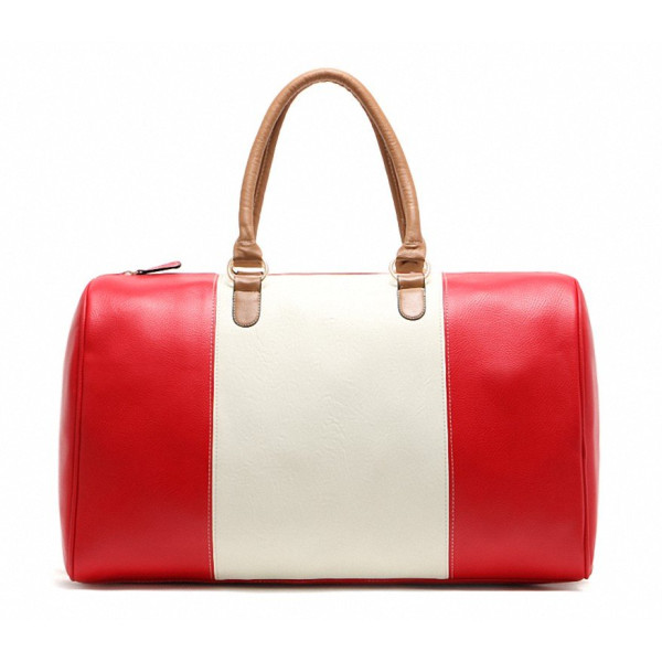 Kenox Pu Leather Carry on Duffel Bag