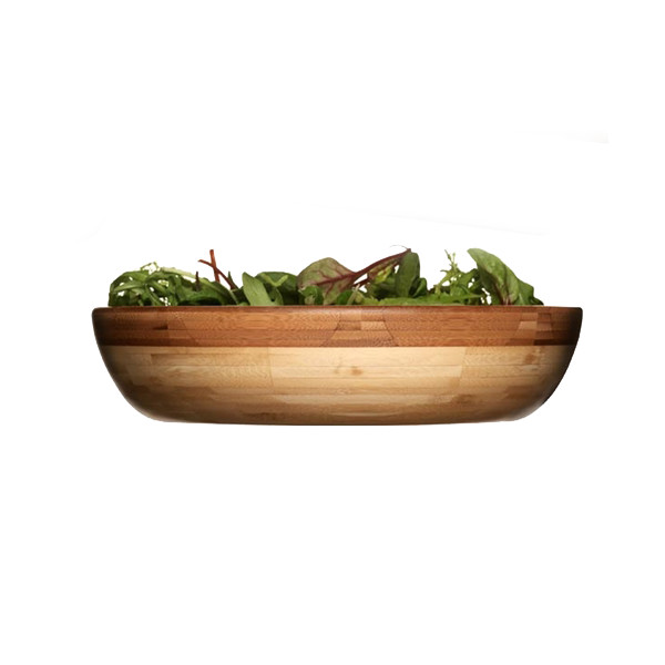 Sagaform Ecologically Grown Bamboo Serving Bowl, Large