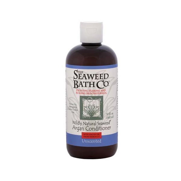 Wildly Natural Seaweed Argan Conditioner Unscented The Seaweed Bath Co. 12.0 oz
