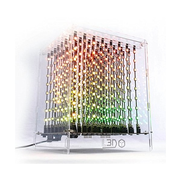 L3D Cube: The Devastatingly Beautiful 3D LED Cube from the Future