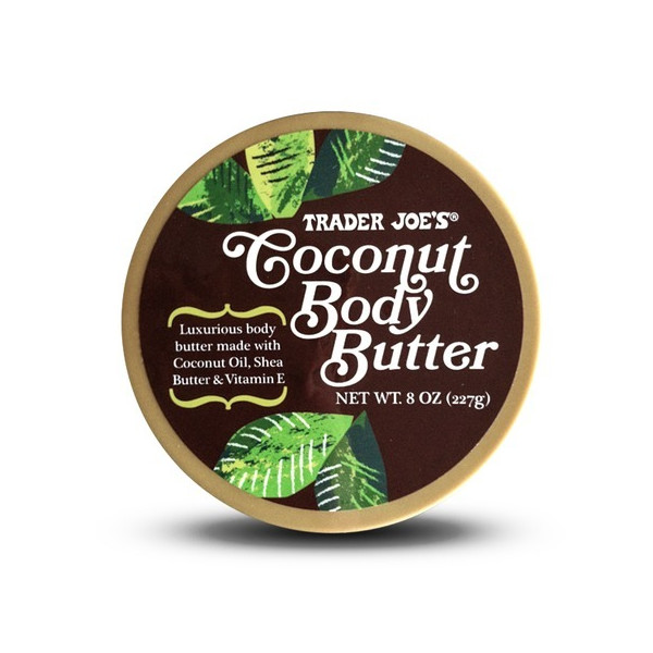 Trader Joe's Coconut Body Butter 8 Oz.