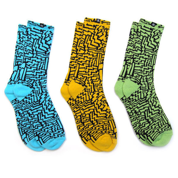 Quiet Life: Aztec Sock 3 Pack