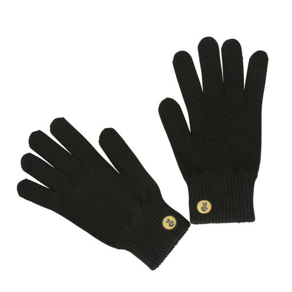 Glove.ly Solid Gloves, Charcoal, Small