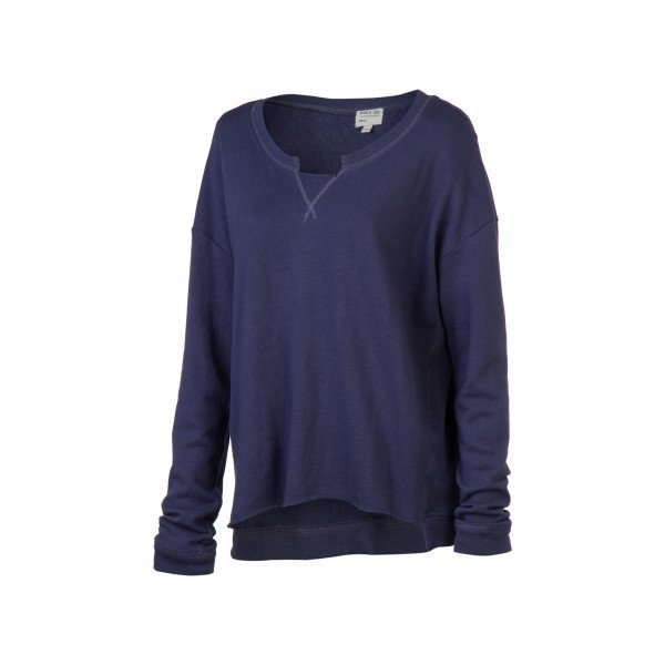 RVCA Women's Chumayel Fleece Top Navy Large
