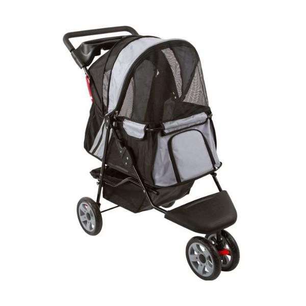 Black & Silver Stroller Jogger for Pets