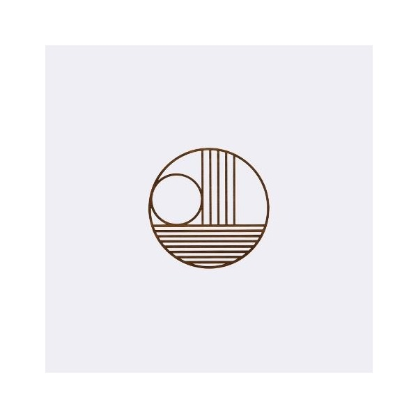 Ferm Living 3204 Outline Trivet - Circle - Dia. 13.5 cm.