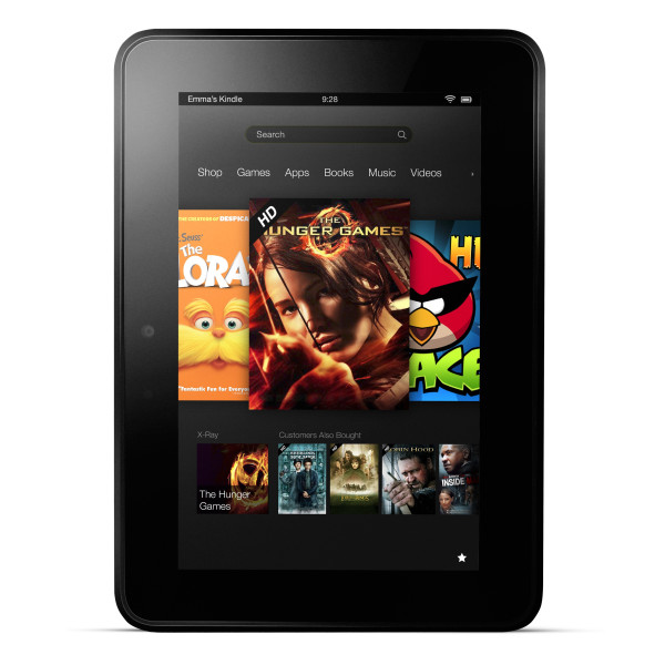 "Fire HD 7, 7"" HD Display, 8GB"