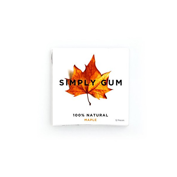 Simply Gum Maple, 6 Packs