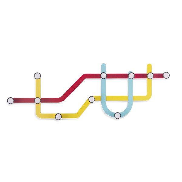 Umbra Subway Hooks, Multicolored