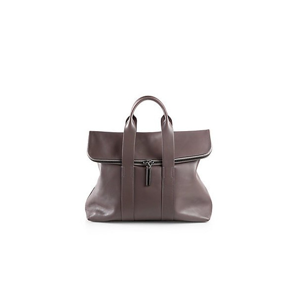 3.1 Phillip Lim 31 Hour Satchel - Smoke