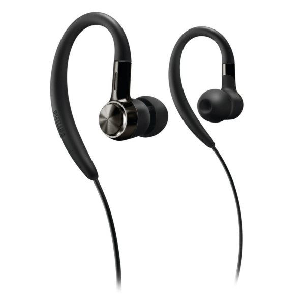 Philips Ear-Hook Headset for Android, Black