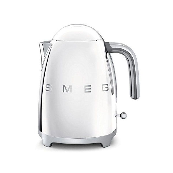 Smeg KLF01SSUS 50's Retro Style Aesthetic Electric Kettle, Stainless Steel