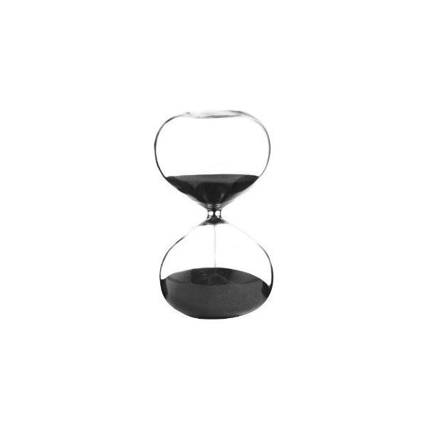 G.W. Schleidt 60 Minute Sand Timer with Black Gift Box