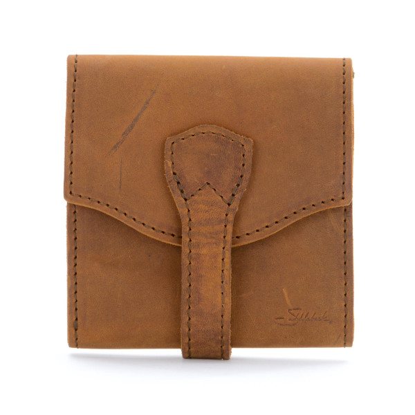 Saddleback Leather Classic Trifold Wallet, Tobacco