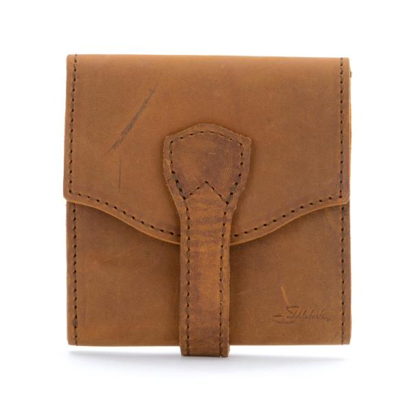 Saddleback Leather Classic Trifold Wallet, Tobacco