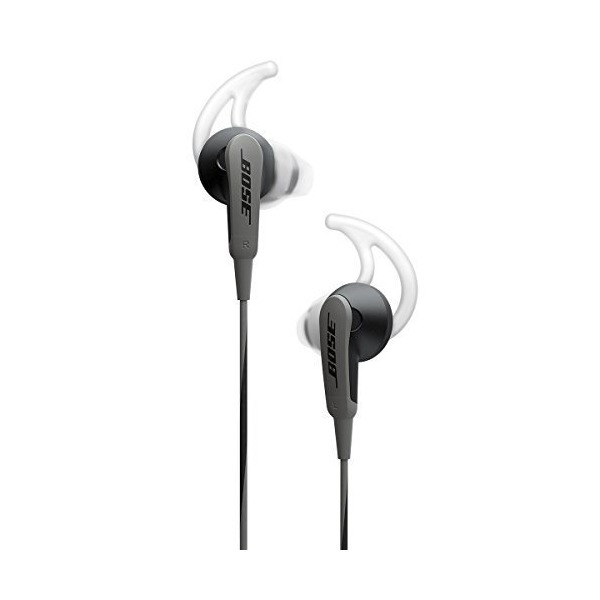 Bose SoundSport In-Ear Headphones, Charcoal