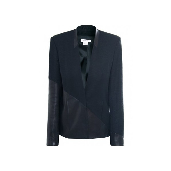 Helmut Lang Women's Warped Suit Jacket UK 10 Black