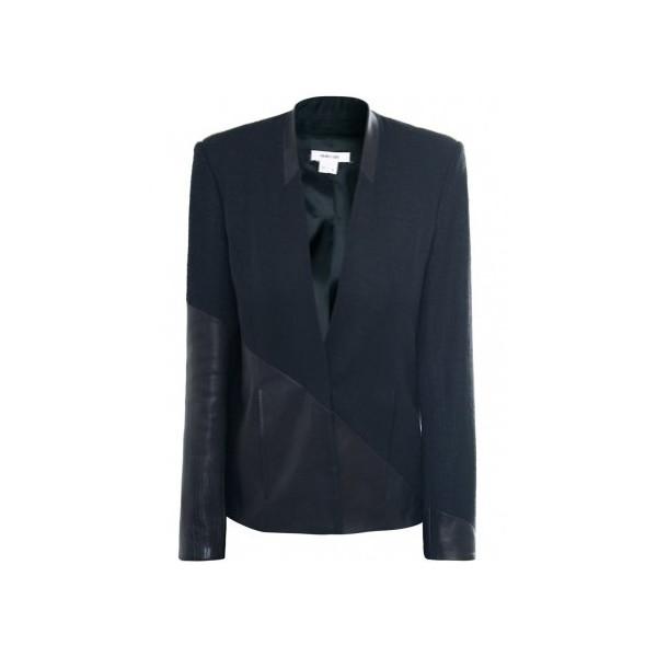 Helmut Lang Women's Warped Suit Jacket UK 10 Black
