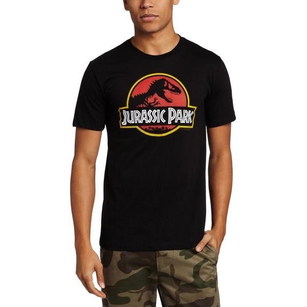 American Classics Men's Jurassic Park Logo T-Shirt